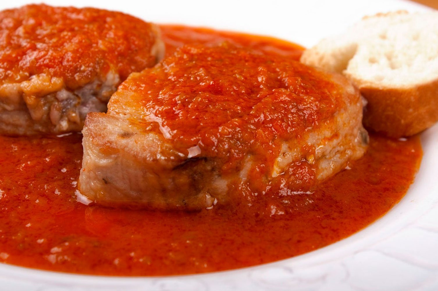 bonito con tomate - La mejor pescadería en Cáceres - Felipe Salgado