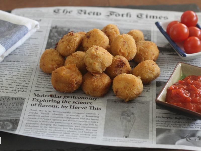 La mejor pescadería en Cáceres - Croquetas de camarones